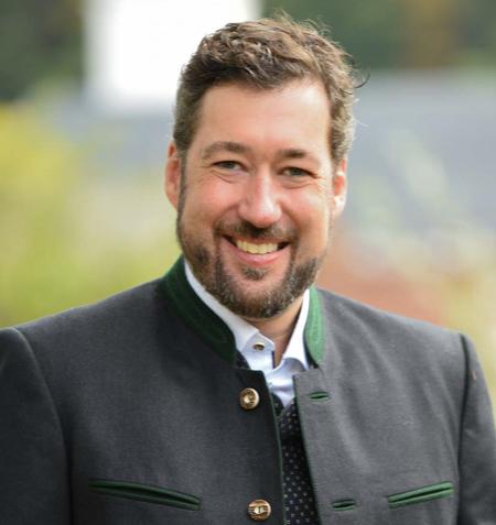 Prof. Dr. Matthias Bernhardt</br></br>1. Bürgermeister in Oberaudorf </br></br> 5.264 Einwohner